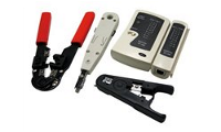 LogiLink Networking Tool Set with Bag - Network Tool/Tester Kit
