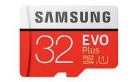 Samsung EVO Plus MB-MC32G - Flash-Speicherkarte (microSDHC/SD-Adapter inbegriffen)