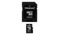 Intenso Class 10 - Flash-Speicherkarte (microSDHC/SD-Adapter inbegriffen)