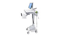Ergotron EMR Cart with LCD Pivot, LiFe Powered - Wagen für LCD-Display/Tastatur/Maus/Barcode-Scanner/CPU/Medikation