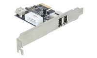 DeLock PCI Express Card FireWire A 2+1 Port - FireWire-Adapter