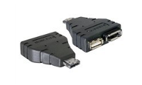 DeLOCK Power Over ESATA adapter - Power Over eSATA-Adapter