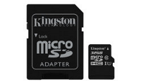 Kingston Canvas Select - Flash-Speicherkarte (microSDHC/SD-Adapter inbegriffen)