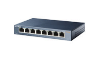 TP-Link TL-SG108 8-port Metal Gigabit Switch - Switch