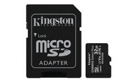 Kingston Canvas Select Plus - Flash-Speicherkarte (microSDHC/SD-Adapter inbegriffen)