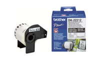 Brother DK-22212 - Permanent adhesive