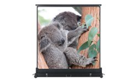 MEDIUM Movielux Mobile - Projection screen with floor stand