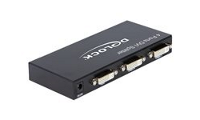 DeLock DVI Splitter 4 Port - Video splitter